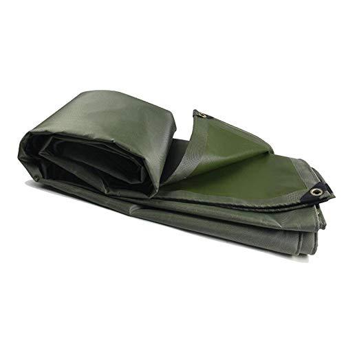 BBZZ Lona resistente de polietileno reforzado resistente al agua, cubierta para tienda de campaña, 580 g/m², grosor 0,6 mm de lona resistente (tamaño: 2 MX3 M)