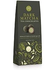 Mi&Cu Gourmet - Bombones de té Matcha con chocolate Negro 70% 100 gr