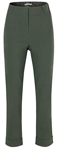 Stehmann Igor-680, Sportive 7/8 Damenhose, in vielen weiteren Farben erhaeltlich (36, Forest)