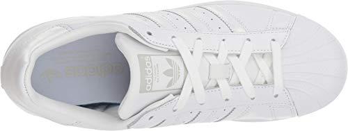 adidas Originals Superstar, Zapatillas Deportivas. Mujer, Blanco, Blanco, Gris, 39.5 EU