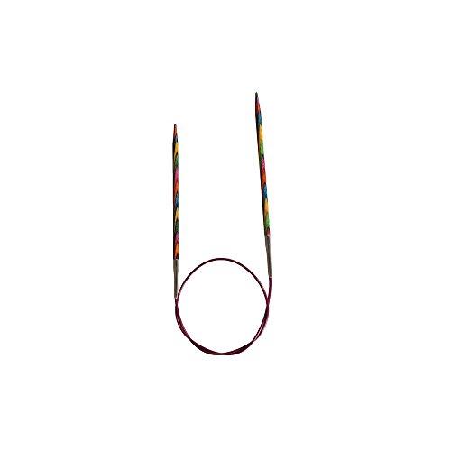 KnitPro 150 cm x 9 mm Symfonie Aiguilles à Tricoter circulaires Fixes Multicolore