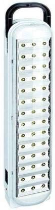 Gesto Plastic 714 Portable Rechargeable LED Emergency Light (White),Pack of 1