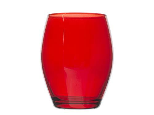 Pasabahce 489271 Montecarlo Lot de 6 verres Rouge cl39