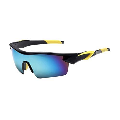 Gafas de sol Deportivas con lentes Polarizadas y Espejo para Ciclismo MTB Running –Gafas de Bicicleta UV 400 con Lentes, adecuadas para Ciclismo Gafas béisbol Pesca esquí Correr Conducir Gafas