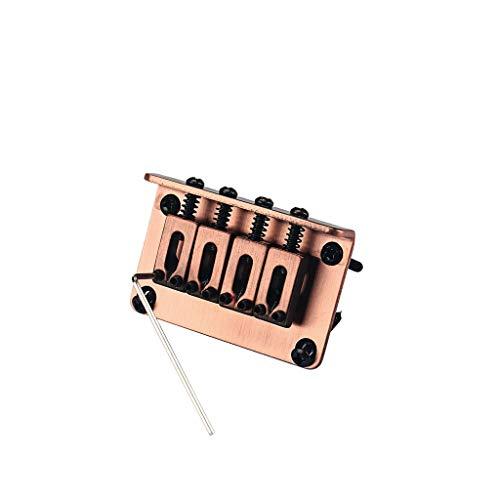 Alnicov 4 cuerdas Vintage ukelele puente para caja de cigarros Guitarras Ukelele rojo Cooper Guitarras piezas y accesorios