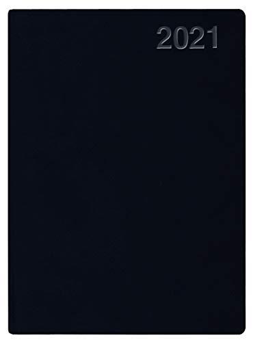 Handwerker-Kalender PVC schwarz 2021
