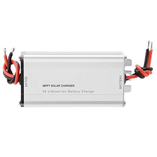 Solar MPPT-Controller-Ladegerät, Walfront 18 V 10 A MPPT-Solarpanel-Controller 3 S Li-Ion / 4 S LiFePO4-Batterieladekarte Effizienz Solarpanel-Laderegler (4 S LiFePO4-Batterie)