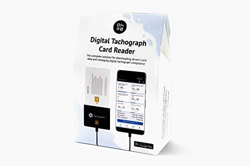 Tachograph Card Reader - Lector de tarjeta de tacógrafo - lea, descargue, controle y alalice los datos de su tarjeta de conductor de tacógrafo digital directamente con su teléfono con Tacogram