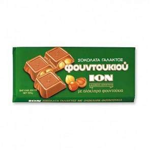 Milk Chocolate with Hazelnuts (ion) 200g by Ion