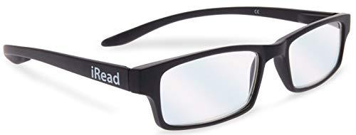 Gafas de lectura con filtro de luz azul +1,00 Negro