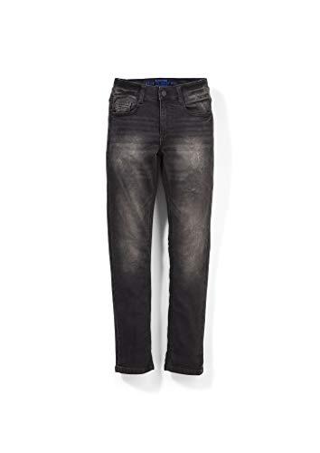 s.Oliver Jungen Regular Fit: Dunkle Jeans mit Slim leg dark grey 152.SLIM