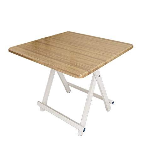 Klaptafel tuintafel eettafel eenvoudige kleine vierkante tafel huishouden draagbare ruimte (grootte: 60 * 60 * 55 cm) 80 * 80 * 75cm