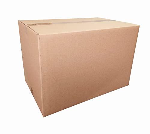 TAMAYO Y CIA - 5 cajas 60x40x40 cm - Cartón doble - Muy resistentes y ligeras - Ideal para mudanza