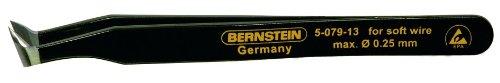 Bernstein Schneidpinzette, 115 mm, Schneide 10 mm mit ESD-Beschichtung, 5-079-13