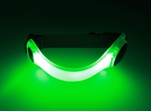 Spooti - Running-Reflektoren in grün, Größe grün