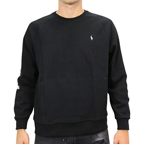 Ralph Lauren Herren Grafik-Sweatshirt Schwarz L