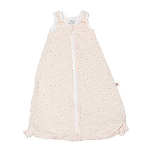 Ergobaby Baby-Schlafsack Sommer mit Füßen Gurtschlitz 6-18 Monate 0.5 Tog Baumwolle, Sommerschlafsack On The Move Star Bright