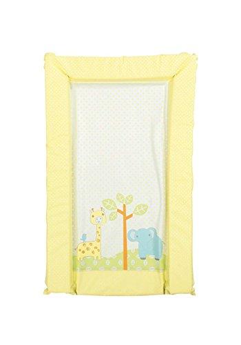 Mothercare - Colchón cambiador, diseño de safari, color amarillo