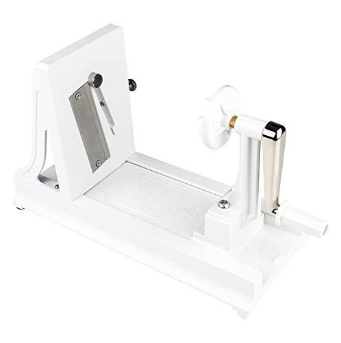 Benriner 490546 BN-7W Spiralschneider, ABS-Kunststoff, Weiß, 12 cm x 27 cm x 17 cm, Grün