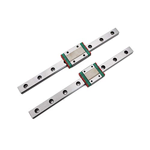 BEYTII Guide linéaire 3D Imprimante MGN7 MGN12 MGN15 MGN9 L 100 350 400 500 600 800mm de Miniature Rail de Guidage linéaire Diapo MGN MGN12H Transport (Color : MGN15H, Size : 400mm)