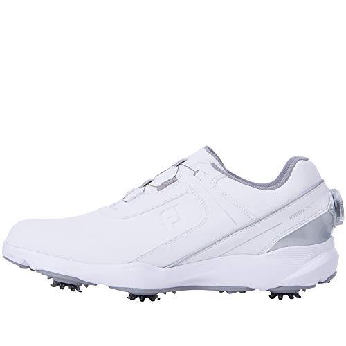 [フットジョイ] ゴルフシューズ HYDROLITE ハイドロライト BOA メンズ ホワイト/シルバー 26.5 cm 3E