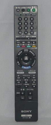 『SONY 純正ブルーレイディスクレコーダー用リモコン RMT-B005J』の1枚目の画像