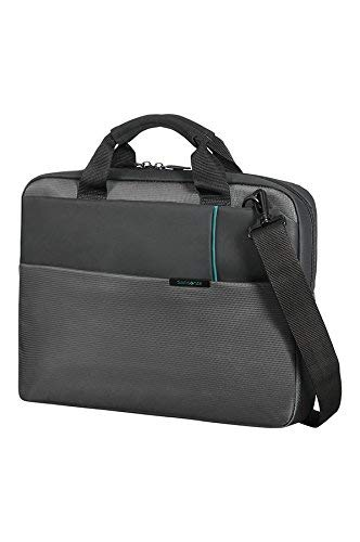 Samsonite Qibyte Office Case 14.1' Bolso Bandolera, 8.5 litros, Color Antracita