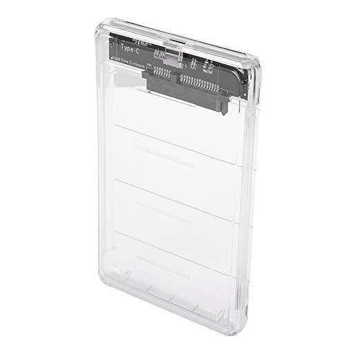 Caja de Disco Duro de 2.5 Pulgadas USB3.1 Tipo C a SATA Caja de...