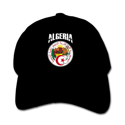 Algeria Football Unisex Kinder Mütze Sonnenhut Hip Hop Kappe Verstellbare Sportkappe Teen Hut Kinder Entenschnabel Kappe