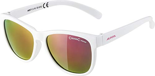 ALPINA LUZY Sportbrille, Kinder, white, one size