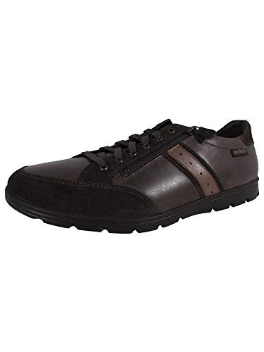 Mobils Ergonomic Mens Kristof Lace Up Sneaker Shoes, Dark Oak, US 9