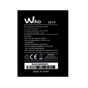 Wiko - Batería para Wiko Jerry 2 Jerry 3 y Tommy 3 (2500 mAh, 9,5 Wh)