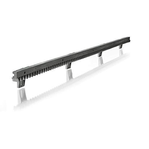 Somfy 2401294 - Metro de cremallera (1 x 1 metro) bajo para puerta corredera | Compatible con motores Freevia, Slidymoove y LS