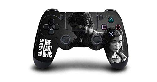 Homie Store 1pcs The Last of US PS4 Skin Sticker Decal Vinyl for Sony PS4 Playstation 4 Dualshock 4 Controller Skin Sticker - A2 QBTM0014