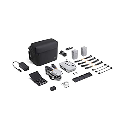 DJI Air 2S Fly More Combo - Drone UAV with 3-Axis Gimbal Camera, 5.4K Video, 1-Inch CMOS Sensor, 4 Directions of Obstacle Sensing, 31min Flight Time, Max 12km Video Transmission (FCC), MasterShots from Dji