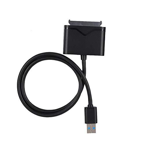 Wendry SATA naar USB3.0 kabel, harde-schijfadapter verlengingsdatakabel externe converter voor 2,5/3,5 inch SSD en HDD gegevensoverdracht plug-and-play