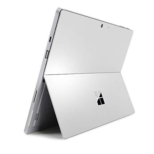 DolDer Skin Sticker Pellicola di design compatibile con Microsoft Surface Pro 7 (Platinum)
