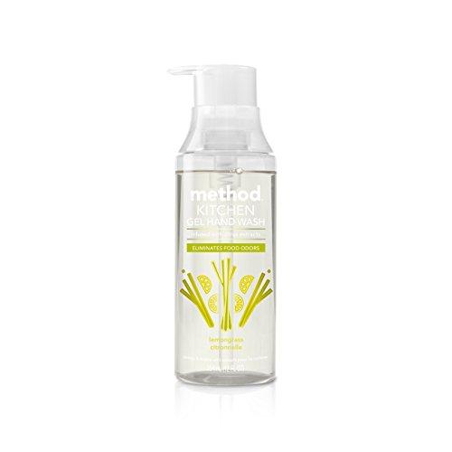 Method Naturally Derived Odor Eliminating Kitchen Hand Wash, Lemon Grass, 6 Count