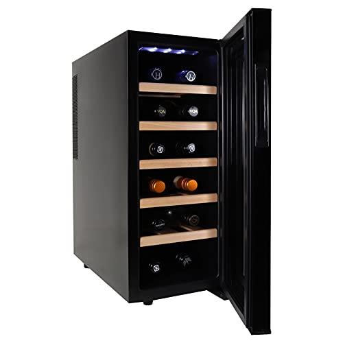 Koolatron 12 Bottle WC12-35D Quiet Cooling Wine Cooler
