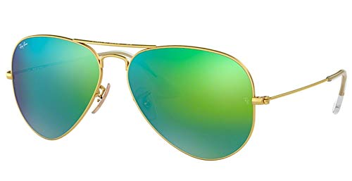 Ray-Ban RB3025 112/19 - Gafas de sol (58 mm, 2 unidades), color azul y verde