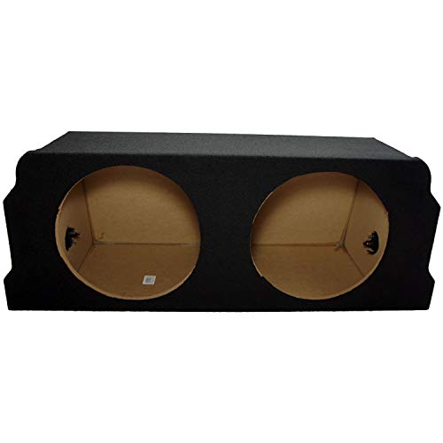 """Compatible with Mazda RX8 Coupe 2003-2012 Dual 12"""" Subwoofer Trunk Sub Box Speaker Enclosure"""