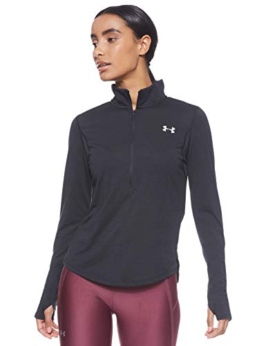 Under Armour Damen Streaker 2.0 Laufshirt, atmungsaktives Sportshirt mit Half Zip, schnelltrocknendes Funktionsshirt mit Reißverschluss