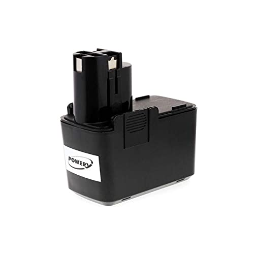 Powery Batería para Bosch Taladro GSR 12VPE-2 m.Pistolengr. NiMH