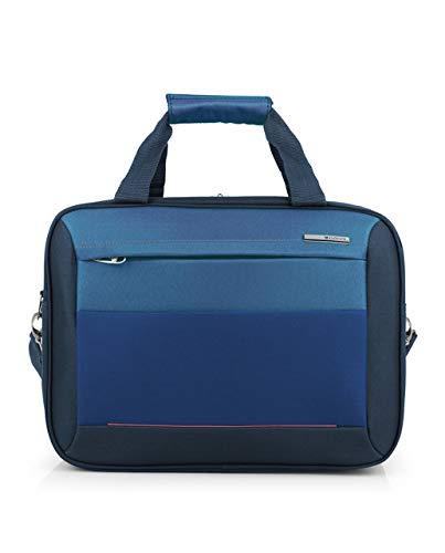 Gabol - Reims | Bolso de Viaje Grande de Tela de 40 x 30 x 20 cm con Capacidad para 21 L de Color Azul