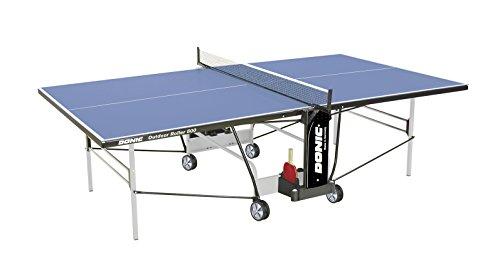 DONIC Outdoor Roller 800-5 Tischtennisplatte, Hellgrau-Schwarz-Blau, One Size