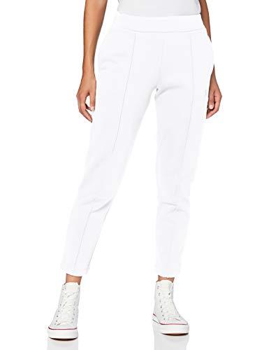 Calvin Klein Jeans Damen Institutional Back Logo Pant Hose, White, XL
