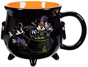 Disney Parks Mickey and Minnie Mouse Halloween Cauldron Mug