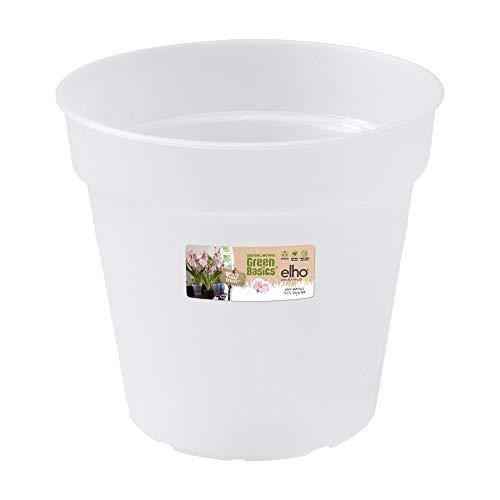 Elho Green Basics Orchidee 13 - Blumentopf - Transparent - Drinnen & Draußen - Ø 13 x H 12 cm