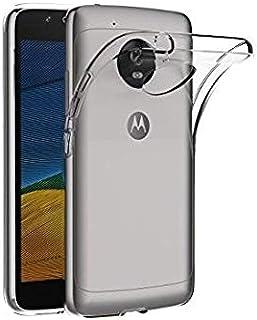 جراب حماية شفاف لموبايل موتورولا موتو G5 - شفاف