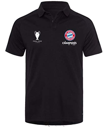 FC Bayern München Poloshirt Triple Tshirt, Shirt Polo T-Shirt (XL)